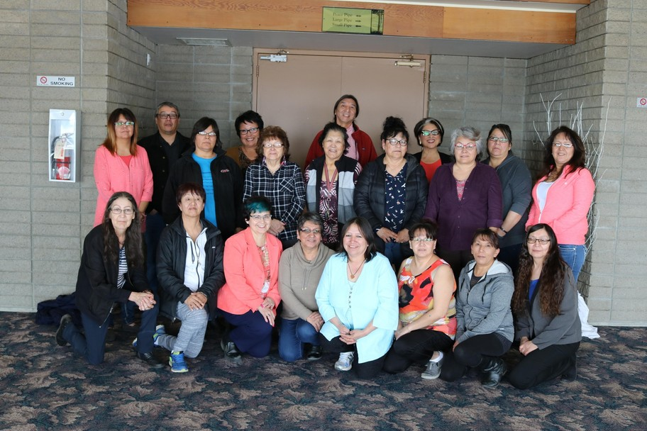 Here is a photo of Indigenous language instructors involved in professional development this year! With funding support from federal and provincial governments, KTC and NSD have partnered together to host workshops in 2016-2017
