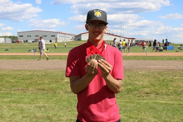 Paddle Prairie School Athlete Joseph Poitras had a day to remember capturing 7 gold medals at the Northland Games!